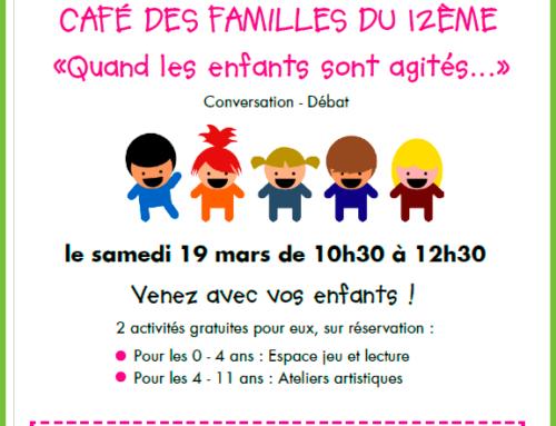 Café des familles – 03/ 2016