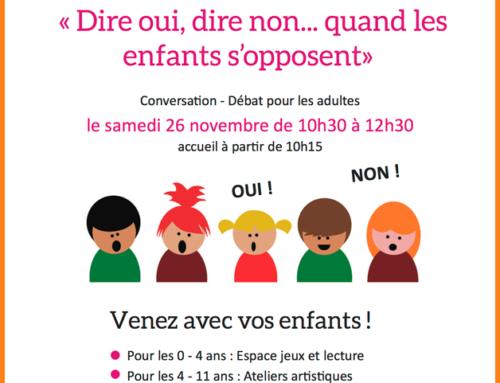 Café des familles – 11/ 2016