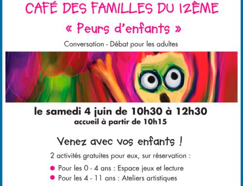 Café des familles – 06/ 2016