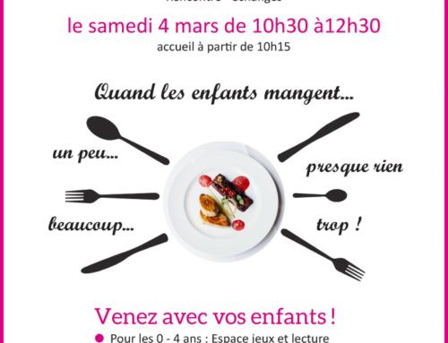Café des familles – 03/ 2017