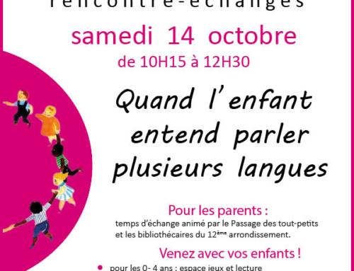 Café des familles – 10/ 2017
