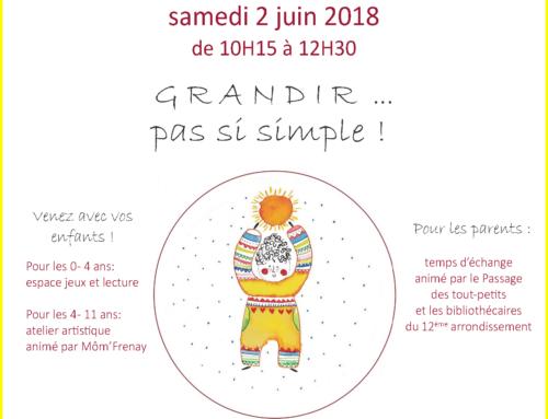 Café des familles – 06/ 2018