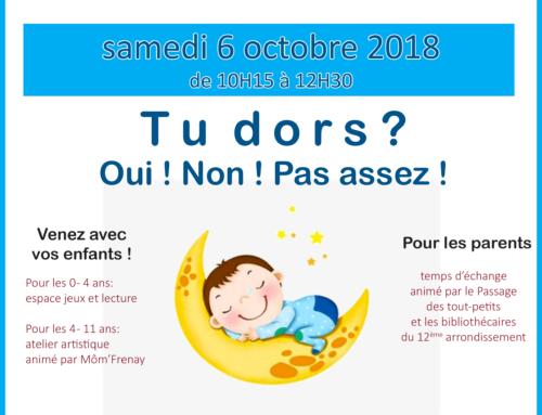 Café des familles – 10/ 2018