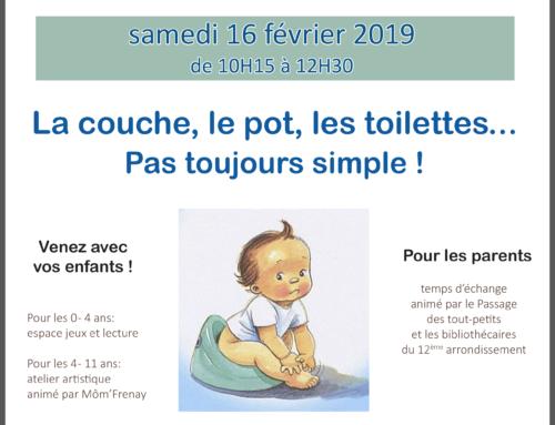 Café des familles – 02/ 2019