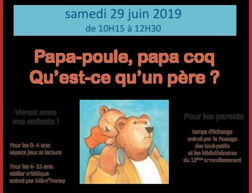 Café des familles – 06/ 2019