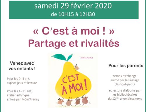 Café des familles – 02/ 2020